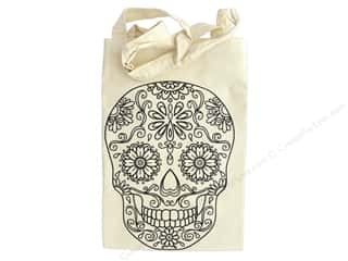 The Bead Giant Tote Bag Skull