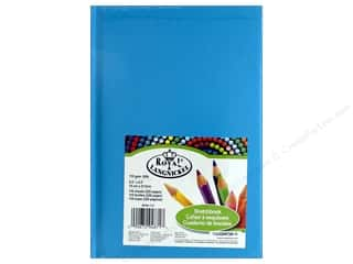 "books & patterns: Royal Artist Pad Sketchbook 5.5""x 8.5"" Blue"