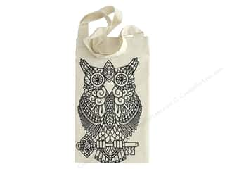 The Bead Giant Tote Bag Owl