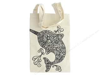 The Bead Giant Tote Bag Narwhal