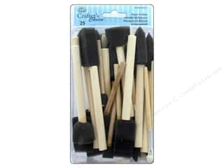 Foam brush: Royal Crafter's Choice Foam Brush Set 25 pc. Assorted