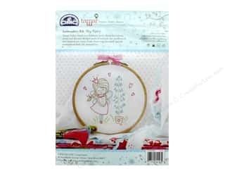 yarn & needlework: DMC Embroidery Kit Shy Fairy