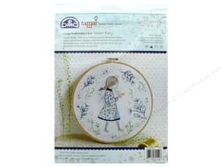 yarn & needlework: DMC Embroidery Kit Large Winter Fairy