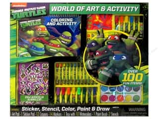 Bendon Activity Set World of Art TMNT (6 sets)