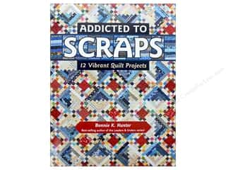 books & patterns: Addicted to Scraps: 12 Vibrant Quilt Projects Book by Bonnie K. Hunter