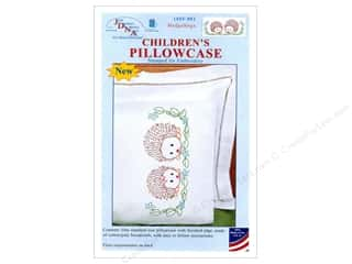yarn & needlework: Jack Dempsey Children's Pillowcase Hedgehogs