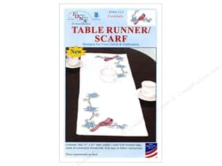 stamps: Jack Dempsey Table Runner/Scarf Cardinal