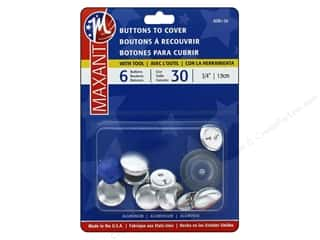 Maxant Cover Button Kit 3/4 in. 6 pc.