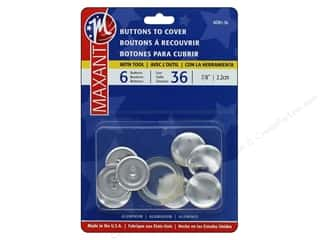 projects & kits: Maxant Cover Button Kit 7/8 in. 6 pc.