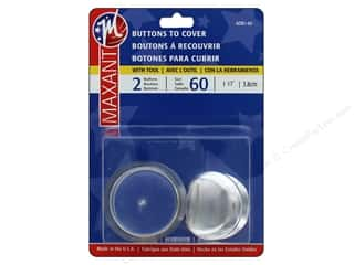 cover button: Maxant Cover Button Kit 1 1/2 in. 2 pc.