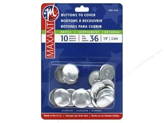 cover button: Maxant Cover Button Refills 7/8 in. 10 pc.