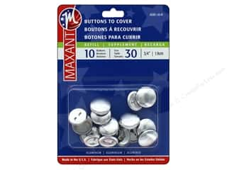 cover button: Maxant Cover Button Refills 3/4 in. 10 pc.