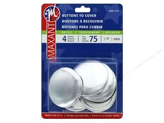 cover button: Maxant Cover Button Refills 1 7/8 in. 4 pc.