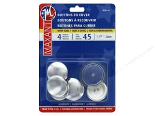 Maxant Cover Button Kit 1 1/8 in. 4 pc.