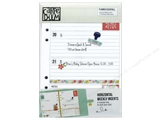 Simple Stories: Simple Stories Collection Carpe Diem Planner Horizontal Weekly Inserts