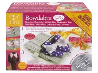 gifts & giftwrap: Darice Bowdabra Hairbow Making Kit
