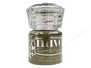 embossing powder: Nuvo Embossing Powder .7oz Classic Gold