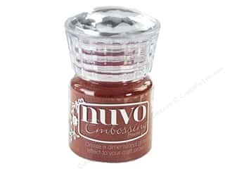 Nuvo Embossing Powder .7 oz. Crimson Gloss