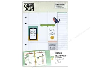 Simple Stories: Simple Stories Collection Carpe Diem Planner Weekly Inserts Vertical