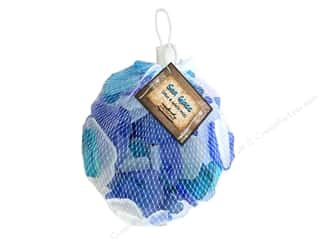 decorative floral: BCI Crafts Gathered Sea Glass Mix Blue & White