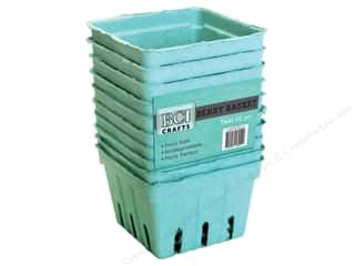 BCI Crafts Berry Basket 10 pc. Teal