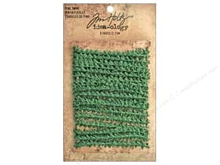 christmas ribbon: Tim Holtz Idea-ology Pine Twine