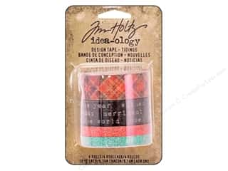 Clearance: Tim Holtz Idea-ology Design Tape Tidings