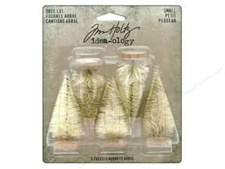 Tim Holtz Idea-ology Trees Woodland Lot Small 5pc