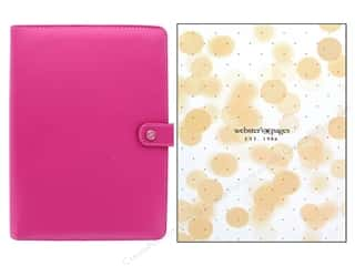 scrapbooking & paper crafts: Webster's Pages Color Crush Planner A5 Fuchsia Boxed