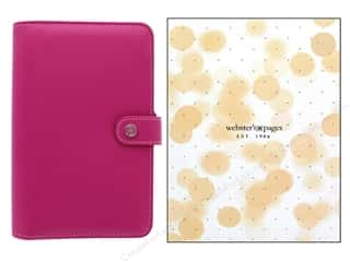 Clearance: Webster's Pages Color Crush Planner Personal Fuchsia Boxed