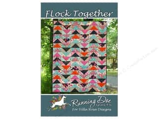 books & patterns: Villa Rosa Designs Running Doe Flock Together Pattern Card
