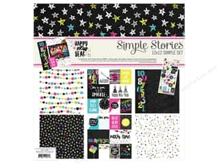 "Simple Stories: Simple Stories Collection Happy New Year Collection Kit 12""x 12"""