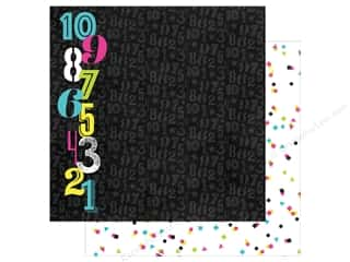 "Simple Stories: Simple Stories Collection Happy New Year Paper 12""x 12"" Countdown (25 pieces)"
