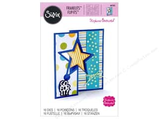 star die: Sizzix Dies Stephanie Barnard Framelits Card Flip Its Star