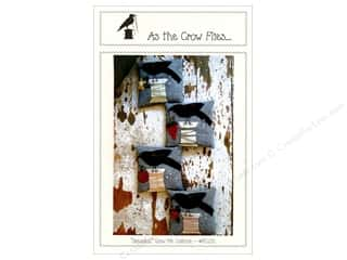 books & patterns: As The Crow Flies Seasonal Crow Pincushions Pattern