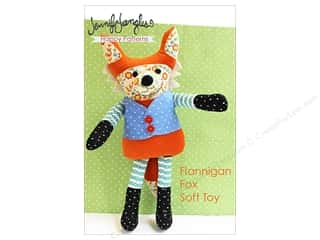 books & patterns: Jennifer Jangles Flannigan Fox Soft Toy Pattern