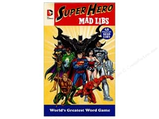 DC Comics Suoer Hero Mad Libs Book