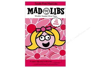 Totally Pink Mad Libs Book