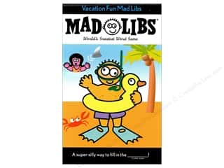 Vacation Fun Mad Libs Book