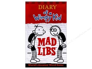 Diary Of A Wimpy Kid Mad Libs Book
