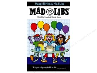 Happy Birthday Mad Libs Book