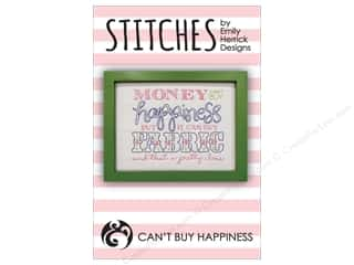 books & patterns: Emily Herrick Designs Stitches Can't Buy Happiness Pattern