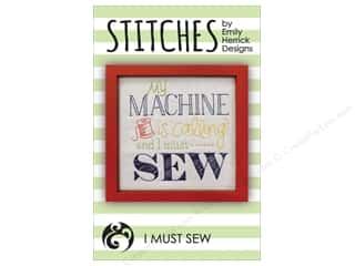 Emily Herrick Designs Stitches I Must Sew Pattern