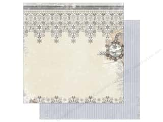 Bo Bunny 12 x 12 in. Paper Winter Wishes Chill (25 pieces)