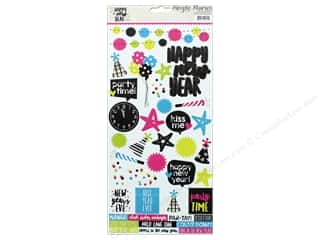"Simple Stories: Simple Stories Collection Happy New Year Sticker 6""x 12"" (12 sets)"