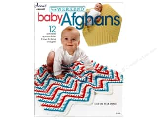 yarn: In a Weekend: Baby Afghans Book by Karen McKenna