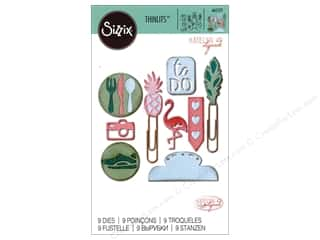 die cutting machines: Sizzix Dies Katelyn Lizardi Thinlits Planner Page Icon #2