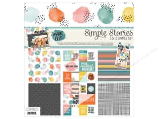 "Simple Stories Collection #Whatever Collection Kit 12""x 12"""