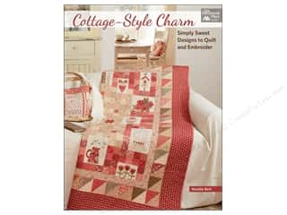 Cottage-Style Charm: Simply Sweet Designs to Quilt and Embroider Book by Natalie Bird