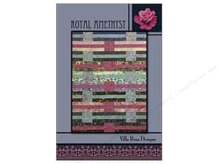 Villa Rosa Designs Royal Amethyst Pattern Card